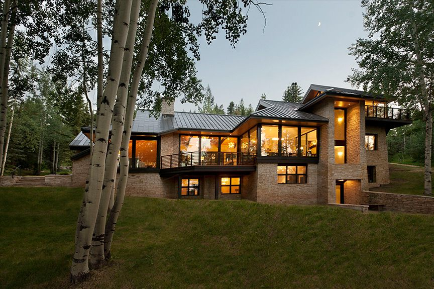 ... Interior Designers Denver Co   After Photo Of Slope Side House In Aspen