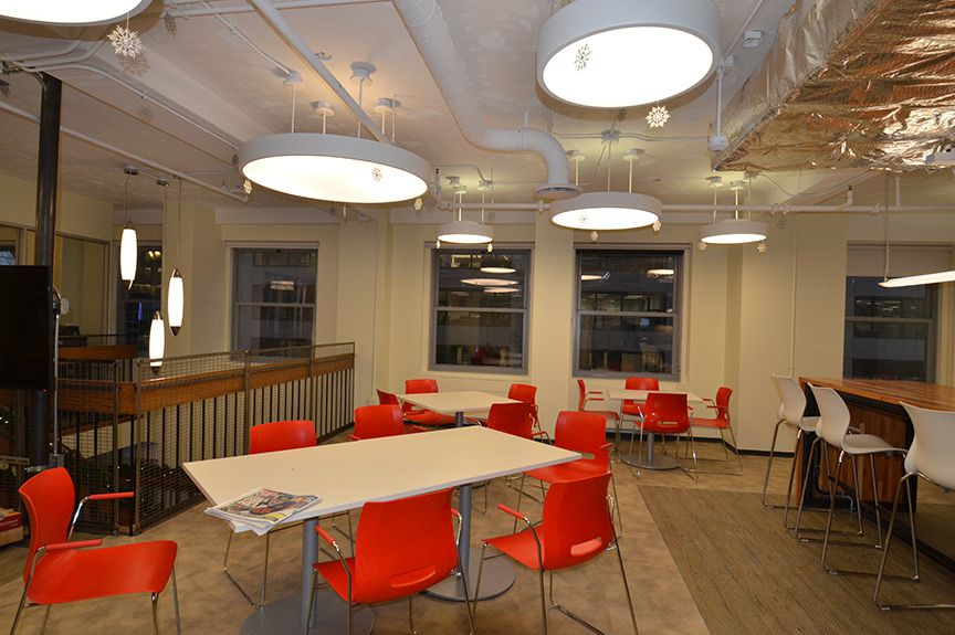 office design firm. office cafeteria design chicago interior firm runa novak a